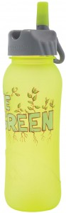 live green flaska
