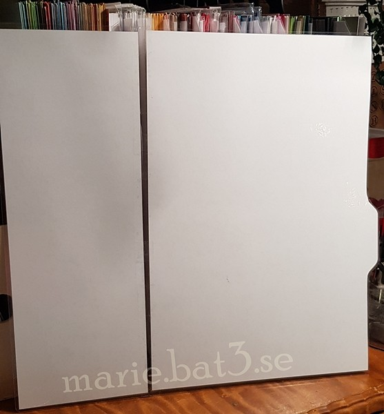 "homemade dividers for 12"" x 12"" paper"